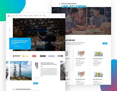 Landing Page - Business Website