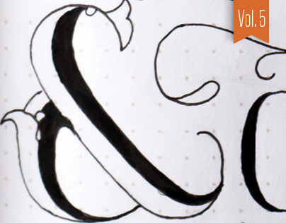 Hand-lettered Sketches – Vol. 5