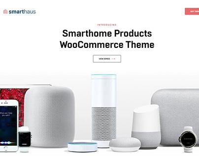 Smarthaus Smart Devices WooCommerce Theme Pavothemes