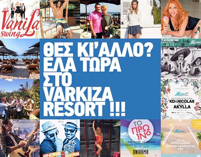 Website Varkiza Resort Yabanaki Beach
