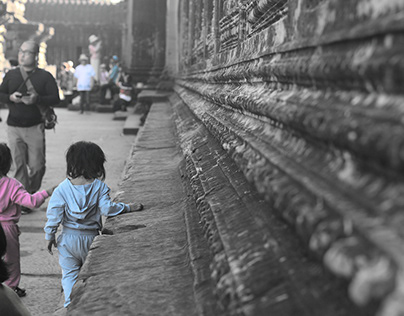 ANGKOR WAT (serie fotográfica)