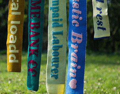 Feminist football scarves