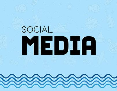 social media - travel agency