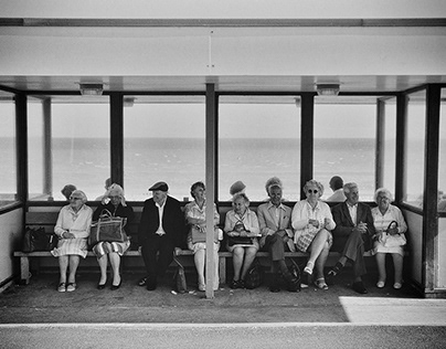The seaside resort of Margate. Circa 1980's