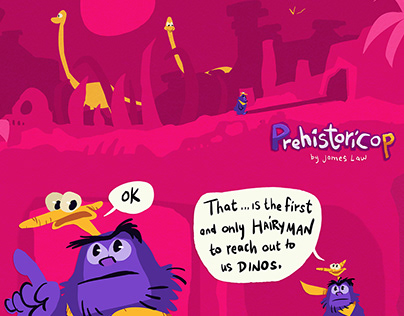 Prehistoricop: Comic