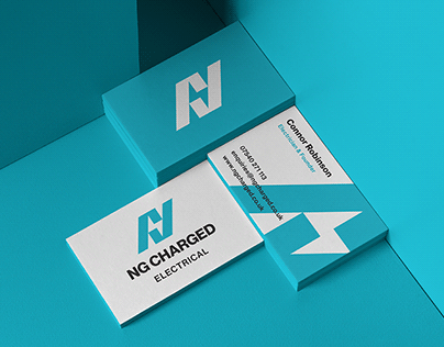 NG Charged Electrical | Brand Identity