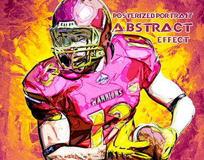 Posterized Portrait Abstract Effect