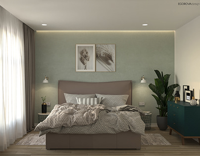 Спальня для молодой девушки. Киев Bedroom for a lady.