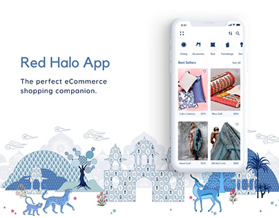 Red Halo ecommerce App
