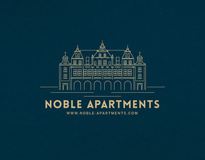 NOBLE APARTMENTS - brand design