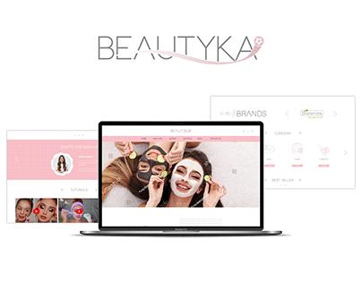 Beautika - Webite