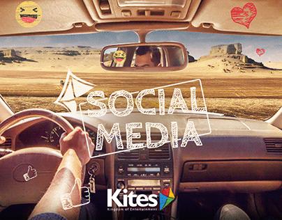Social Media designs - Kites Egypt -