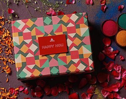 Holi Box Design - Omay Foods