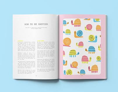 How to be Happier Editorial Design