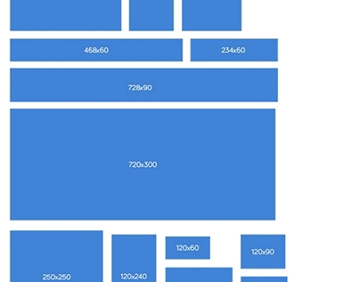 Banner Sizes Template