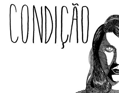 Zine | Condição - ilustração. 32 páginas, independente