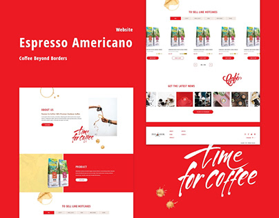 Espresso Americano-Website Design