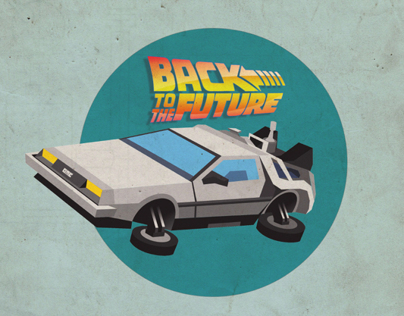 Back to the future illustration