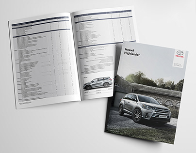 Toyota Booklets and Banners Branding
