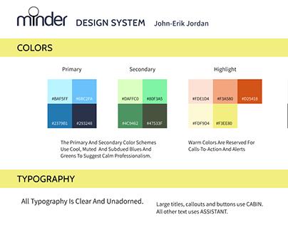 MiNDER Design System