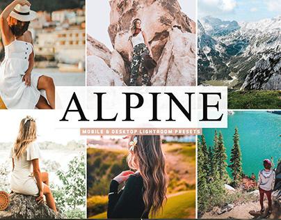Alpine Lightroom Presets Pack