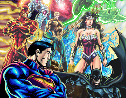 Justice Ligue new 52