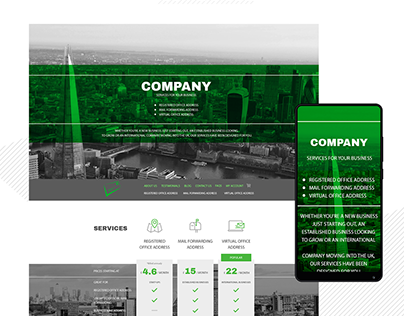 Company Website redesign