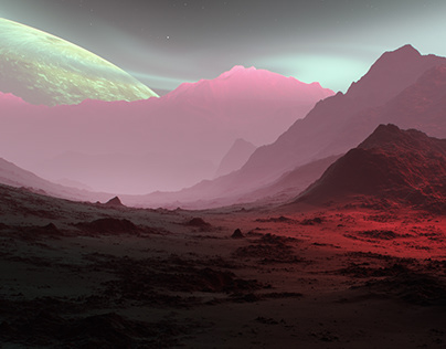 Stories from Space: Candy Mountain on alien planet