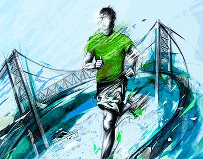 Circuito Sudamericano 21K Illustrations