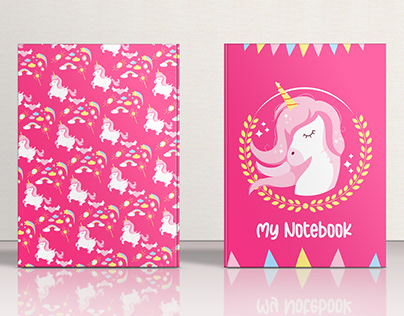 Kids Notebook | Unicorn Theme