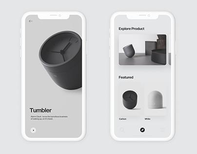 Tumbler   mobile application