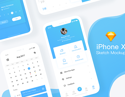 Free iPhone Sketch Mockups