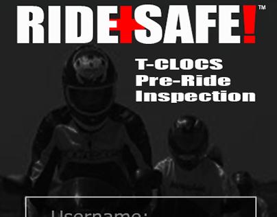 RIDE+SAFE!™ Mobile Web Application | UX/UI