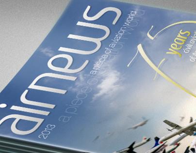 """Airnews"" magazine cover"