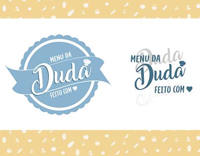 Menu da Duda - Branding