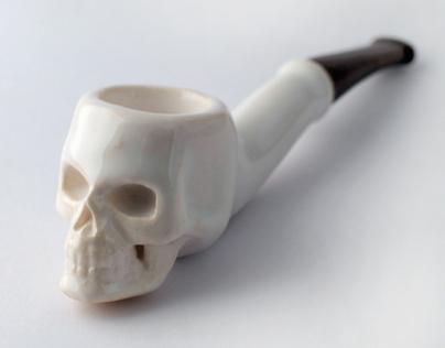 3D Printed Tobacco Pipe