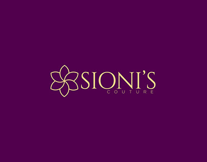 BRAND IDENTITY AND LOGO FOR SIONI'S COUTURE