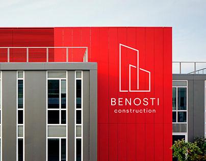 Benosti Construction. Identity