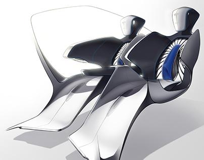 MIRAGE - 2040 Tesla Dakar Vision Concept