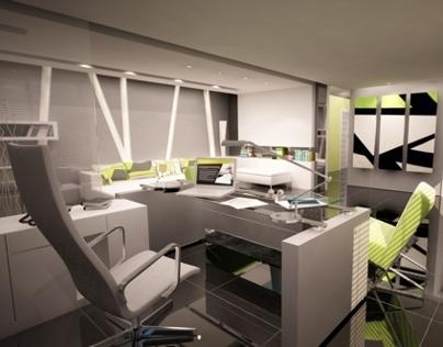Ultra Modern Interior Office on Behance
