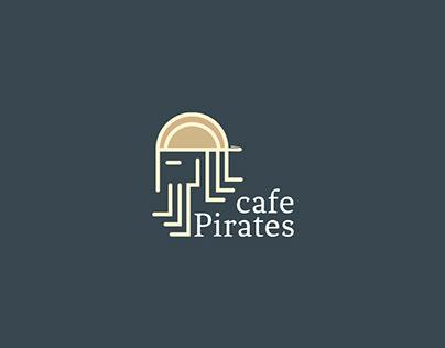 Pirates Cafe | Logo Design