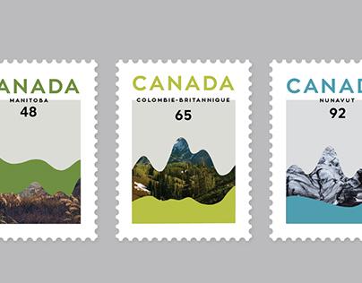 Timbres de poste - Canada