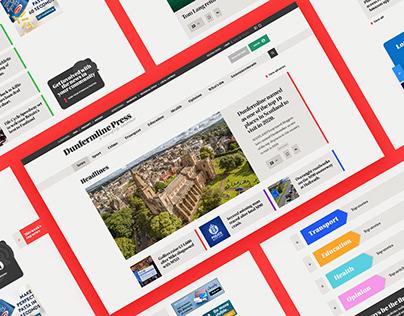 Dunfermline Press website rework [WIP]