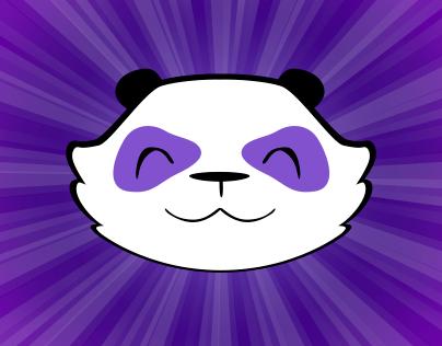 Purple Party Panda