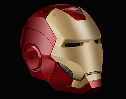 Iron Man's helmet - A realistic reproduction