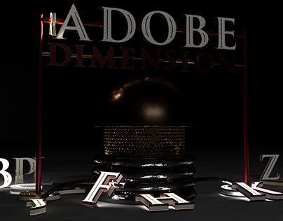 3D typography with Trajan