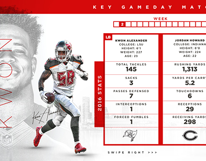 2017 Buccaneers Key Matchups
