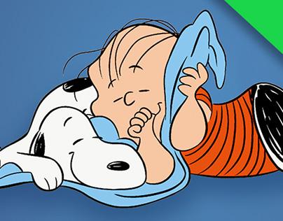「スヌーピーと幸せの毛布」