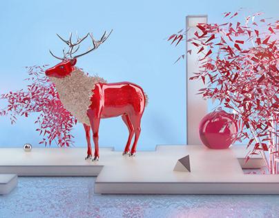 Modern Bestiary - Shiny Stag