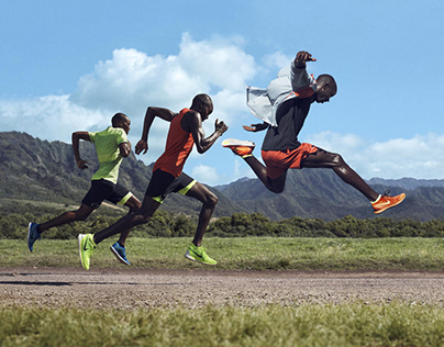 Nike - Kenyan Elite Runners